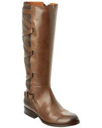 Frye - Women's Jordan Strappy Leather Tall Boot - Lyst