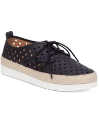 Lucky Brand | Womens Tikko Leather Low Top Lace Up | Lyst