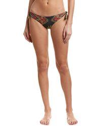 Nicole Miller - Artelier Beach Blanket Bikini Bottom - Lyst