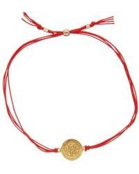 Dogeared - St. Christopher 14k Plated Bracelet - Lyst