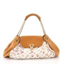 597d4933a39d Louis Vuitton - Pre Owned Jamais Handbag Limited Edition Aquarelle Monogram  Canvas - Lyst
