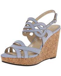 Adrienne Vittadini - Footwear Women's Camber Wedge Sandal - Lyst