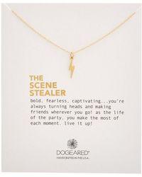 Dogeared - Scene Stealer 14k Plated Necklace - Lyst
