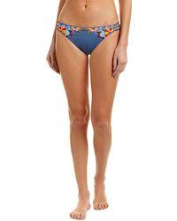 Nanette Lepore - Swim Dazed Denim Charmer Bikini Bottom - Lyst