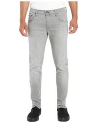 Rag & Bone - Men's Fit 1 Super Slim Jean In Aged Grey - Lyst