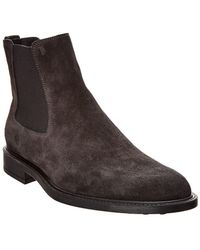Tod's - Leather Ankle Boot - Lyst