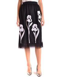 Isola Marras - Women's Black Polyamide Skirt - Lyst