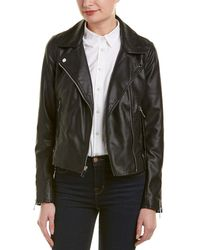 French Connection - Asymmetrical Moto Jacket - Lyst