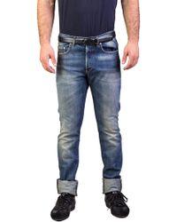 Dior - Homme Men's Bleu Marine Slim Fit Denim Jeans Pants Light Blue - Lyst