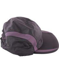 Reebok - Women's Grey/pink Polyester Hat - Lyst