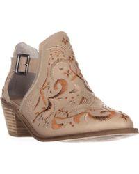 Kelsi Dagger Brooklyn - Brooklyn Kline Ankle Boots, Wheat - Lyst