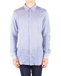 Dondup - Men's Ight Blue Cotton Shirt - Lyst