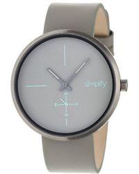 Simplify - Men's The 4400 Quartz Watch - Lyst