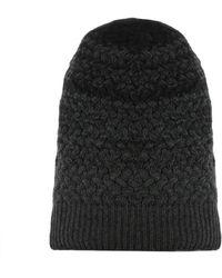 Drumohr - Men's Grey Wool Hat - Lyst
