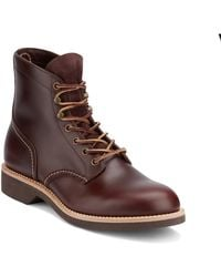 G.H.BASS - . Mens Reid Leather Lace-up Boot - Lyst