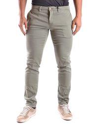 Siviglia | Men's Green Cotton Trousers | Lyst