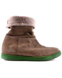 Buttero - Women's Brown Suede Sneakers - Lyst