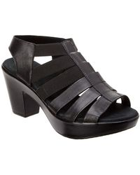 Munro - Cookie Leather Platform Sandal - Lyst