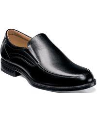 Florsheim - Men's Midtown Moc Toe Slip On 12137-001 Black - Black - Lyst