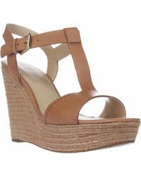ff4bdd1bf14 Lyst - Marc Fisher Helina Women Us 10 Tan Wedge Sandal