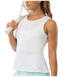 Fila - Women's Net Set Peplum Top - Lyst