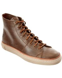 Frye - Men's Gates High Leather Trainer - Lyst