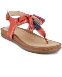 G.H.BASS - . Womens Sunjuns Sadie Sandal Shoe - Lyst