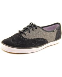 02b8560dc256ee Lyst - Keds Champion Oxford Cvo Men Round Toe Canvas Sneakers in ...