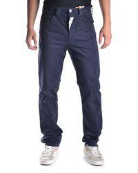 John Galliano - Men's Mcbi130087o Blue Cotton Pants - Lyst