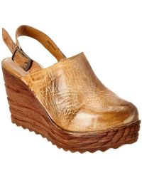 Bed Stu - Parma Leather Wedge - Lyst