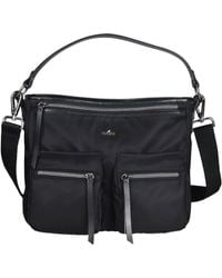 Hogan - Women's Kbw00xr1200ikvb999 Black Fabric Shoulder Bag - Lyst