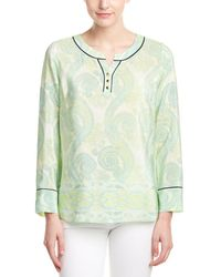 Sail To Sable - Silk Blouse - Lyst