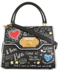 Dolce & Gabbana - Welcome Small Tote - Lyst