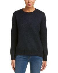 Vince - Drop Shoulder Crew Sweater - Lyst
