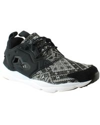 Reebok - Womens Furylite Gt Black Fashion Shoes - Lyst b46257807