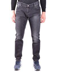 Paolo Pecora - Men's Black Cotton Jeans - Lyst