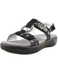 Alegria - Julie Women Open-toe Leather Slingback Sandal - Lyst