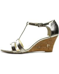 Lauren by Ralph Lauren | Lauren Ralph Lauren Women's Harleen Wedge Sandals | Lyst
