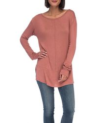 Bobeau - Jayme Pullover Knit Tee - Lyst