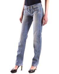 Dekker - Women's Blue Cotton Jeans - Lyst