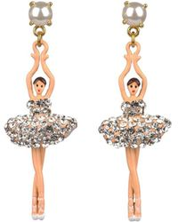 Les Nereides - Luxury Pas De Deux Earrings - Lyst