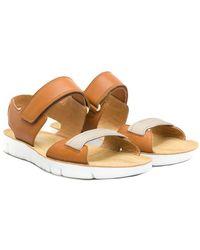 Camper - Oruga Leather Sandal - Lyst