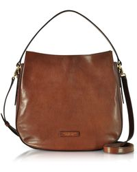 The Bridge - Women's Brown Leather Tote - Lyst