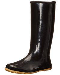 07f52c69d8ce Lyst - Chooka Womens Flex Fit Elastic Rubber Closed Toe Knee High ...