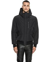 Lamarque - Jaid Two-way Goose Down Bomber Jacket - Lyst