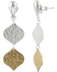 Gurhan - Clove Double Drop Earrings - Lyst