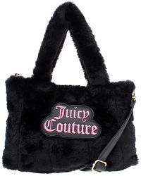 Juicy Couture - Womens In The Mix Faux Fur Convertible Satchel Handbag - Lyst