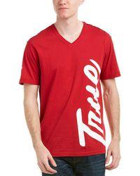 True Religion - Tr Street V-neck T-shirt - Lyst