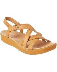 Born - Mahala Leather Sandal - Lyst