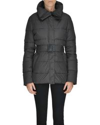 Aspesi - Women's Brown Polyamide Down Jacket - Lyst
